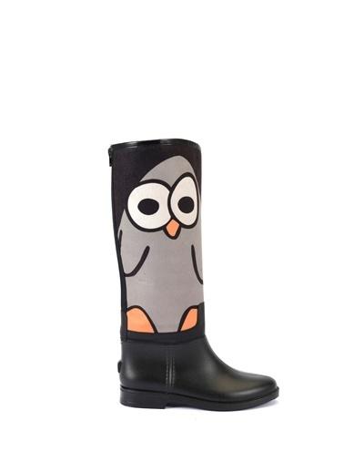 Esem ESEM B0029 Yağmur Çizmesi Kadın Ayakkabı  Siyah